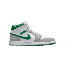 Air Jordan 1 Mid Grey Green UK 12